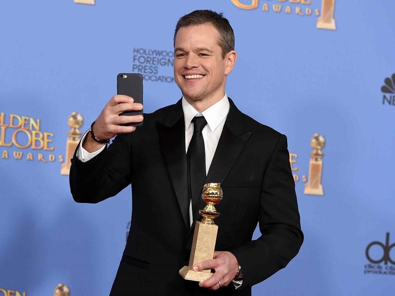 Matt Damon 73. Altın Küre FikriSinema
